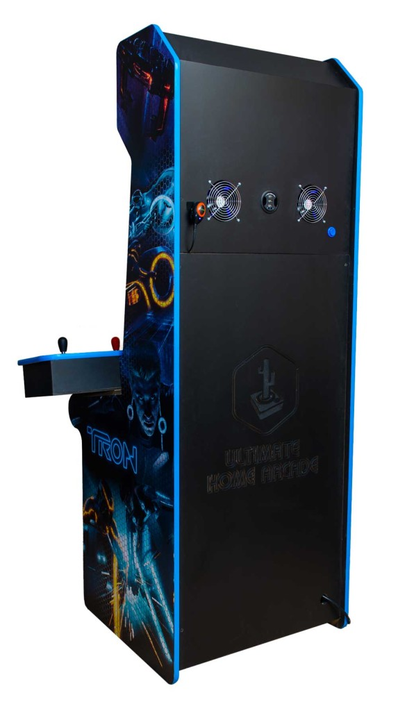 Custom Tron MAME arcade cabinet | Ultimate Home Arcade
