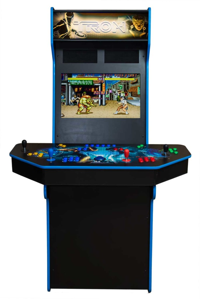 Four Player Upright Arcade Cabinet Ultimate Home Arcade