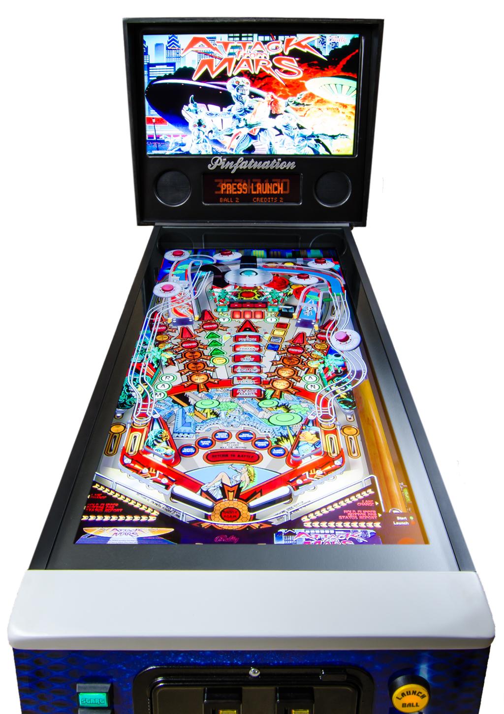 Custom home digital pinball machines & tables | Ultimate ...