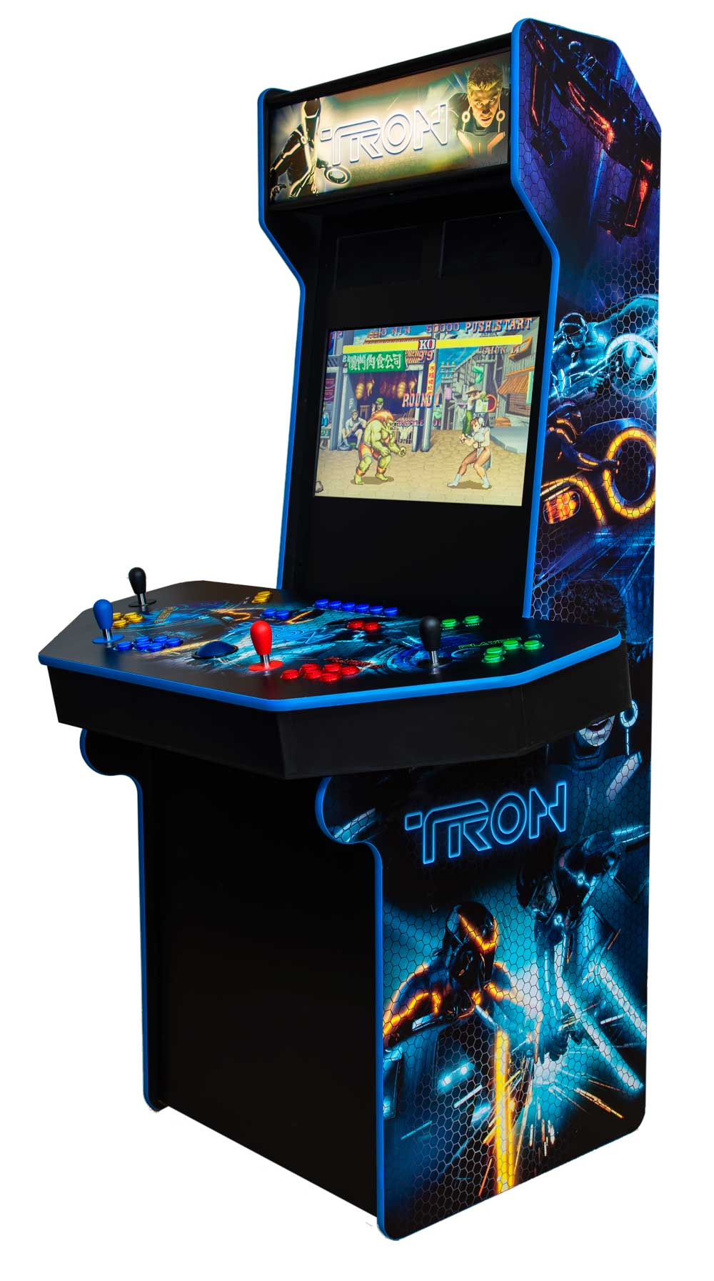custom home arcade cabinets for up to four players ultimate home arcade. Black Bedroom Furniture Sets. Home Design Ideas