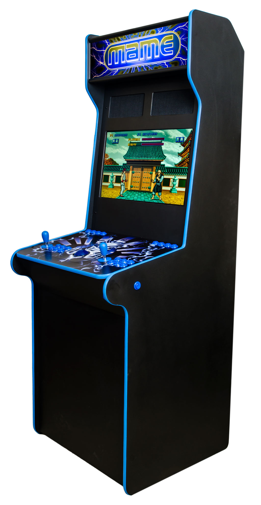 custom two player arcade cabinet ultimate home arcade. Black Bedroom Furniture Sets. Home Design Ideas