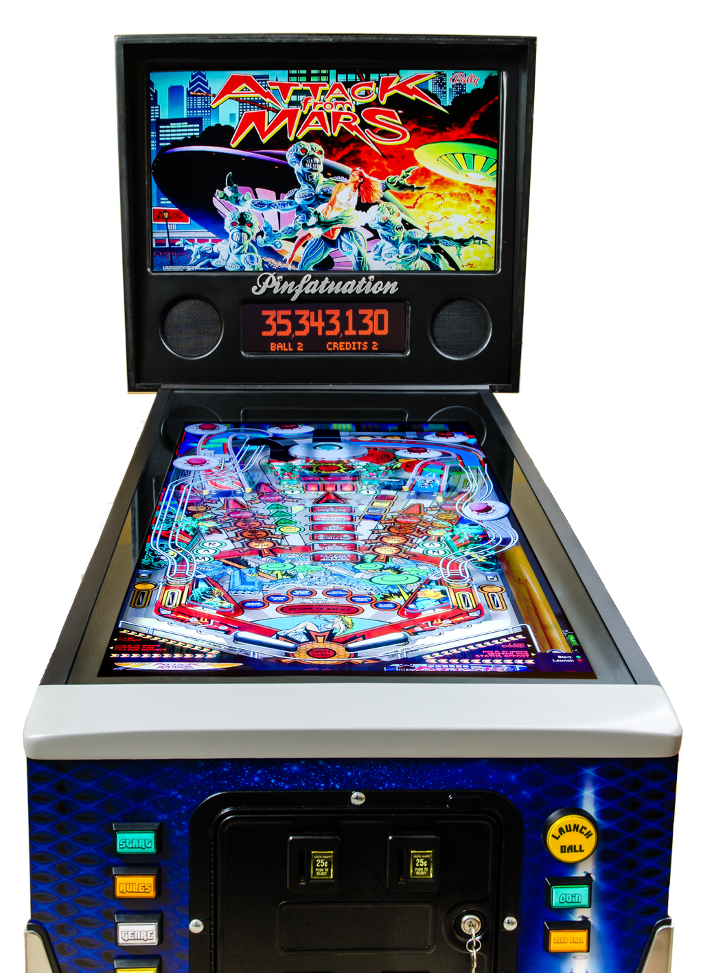 Custom home digital pinball machines & tables | Ultimate ...